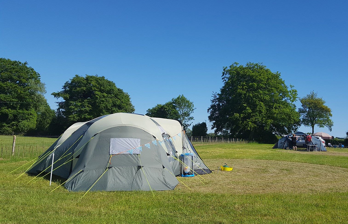 Campsite Hampshire